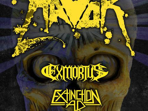Havok Announce Headlining Tour