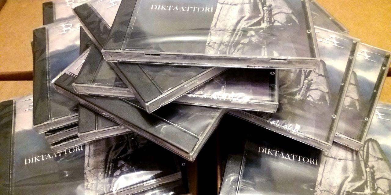 "Finnish Thrash band Rajalla release debut album ""Diktaattori"""