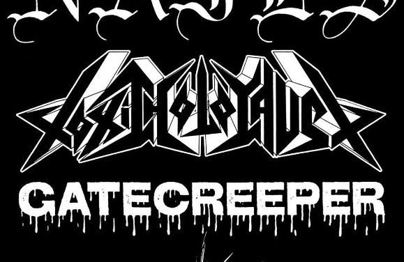 Nails, Toxic Holocaust, and Gatecreeper North American Tour