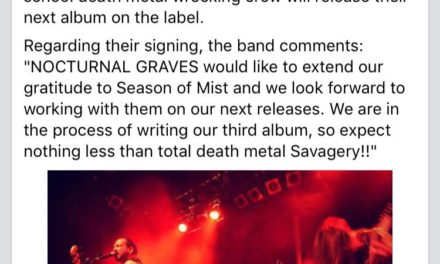 Nocturnal Graves Signs Deal With Season Of Mist