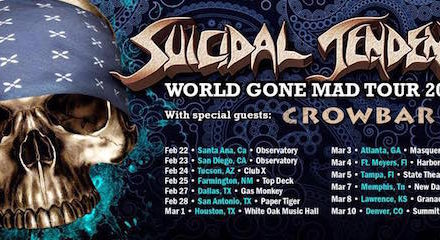 Suicidal Tendencies Announces U.S. Tour
