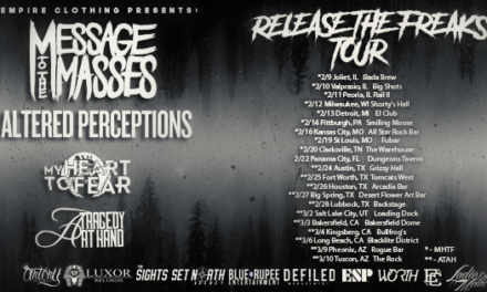 "Bands Announced For The ""Release The Freaks Tour"""