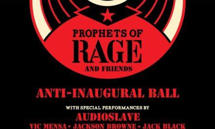 Audioslave Reunite For Anti-Inaugural Ball