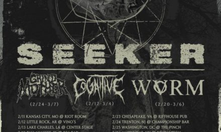 Seeker announce tour w/ Grindmother, Cognitive, Wvrm