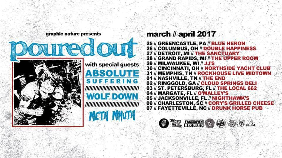 Poured Out Announced Spring Tour Dates