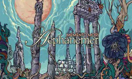 "Aephanemer release video for ""Memento Mori"""