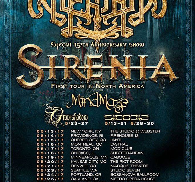 Arkona announce North American Tour w/ Sirenia