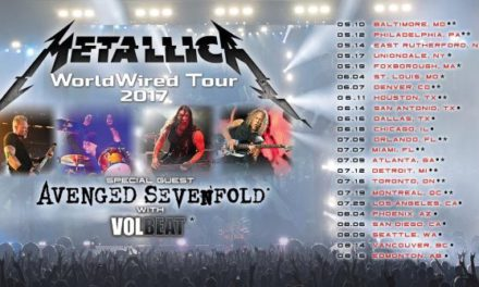 Metallica Announces 'WorldWired' North American Tour