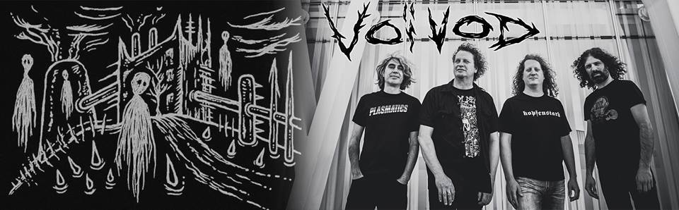 Voivod Announces Deluxe Reissues Of Older Albums