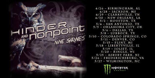 Hinder Announces U.S. Tour Dates