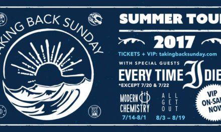 Taking Back Sunday Announces U.S. Tour Dates