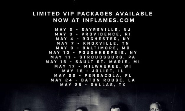 In Flames Announces U.S. Tour Dates