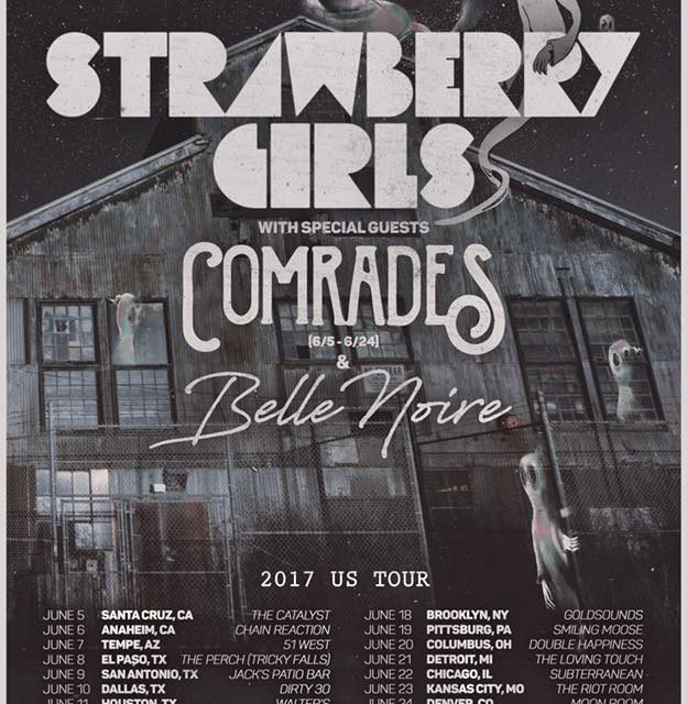 Strawberry Girls Announces U.S. Tour Dates
