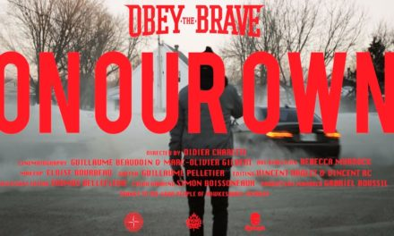 "Obey The Brave release video ""On Our Own"""