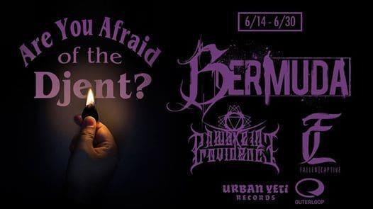 Bermuda Announces U.S. Tour Dates