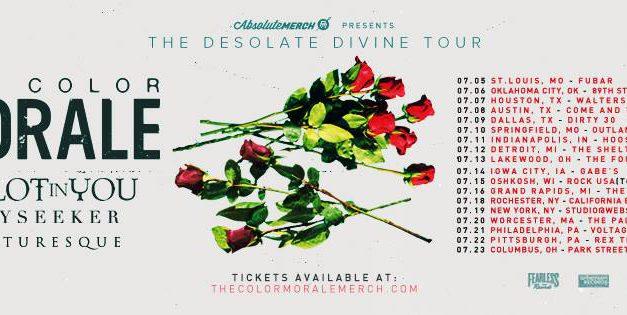 The Color Morale Announces U.S. Tour Dates