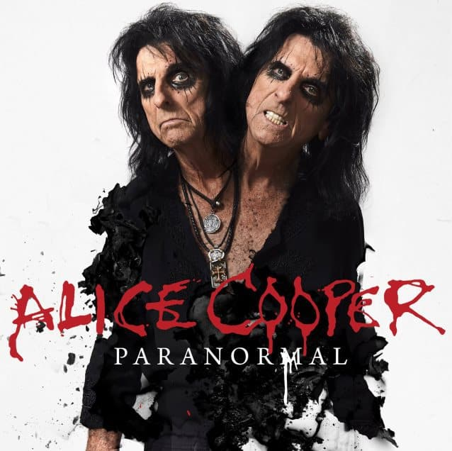 Alice Cooper Announces The Release 'Paranormal'