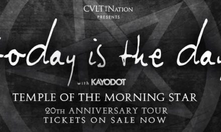 Today Is The Day Announces North American Tour Dates