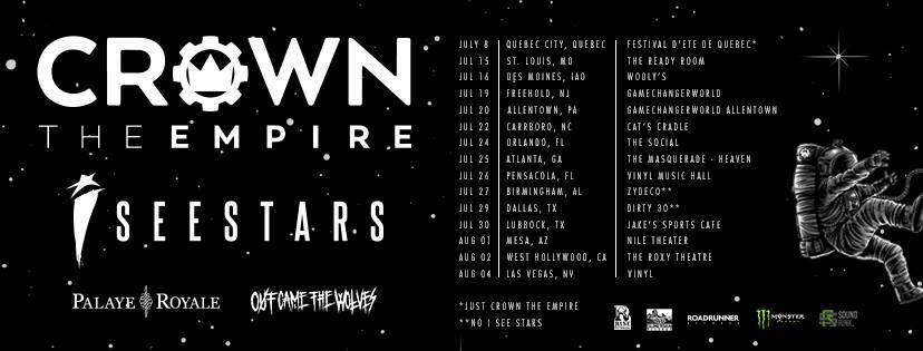Crown The Empire Announces U.S. Tour Dates