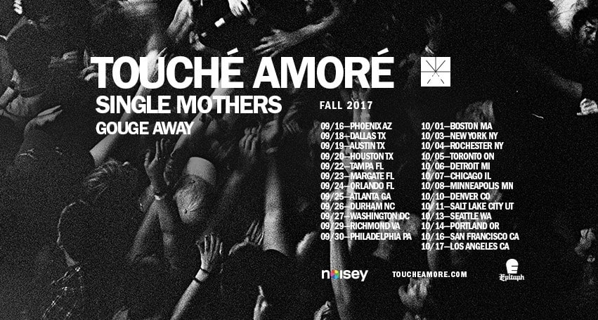 Touche Amore Announces Fall North American Tour Dates