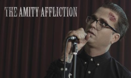 "The Amity Affliction release video ""Can't Feel My Face"""