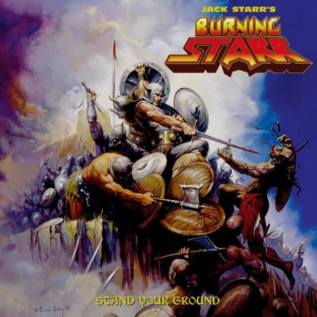 Jack Starr's Burning Starr Has Announced The Release 'Stand Your Ground'