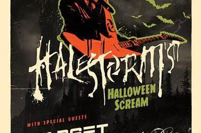 Halestorm Announces Dates For 'Halloween Scream' Tour