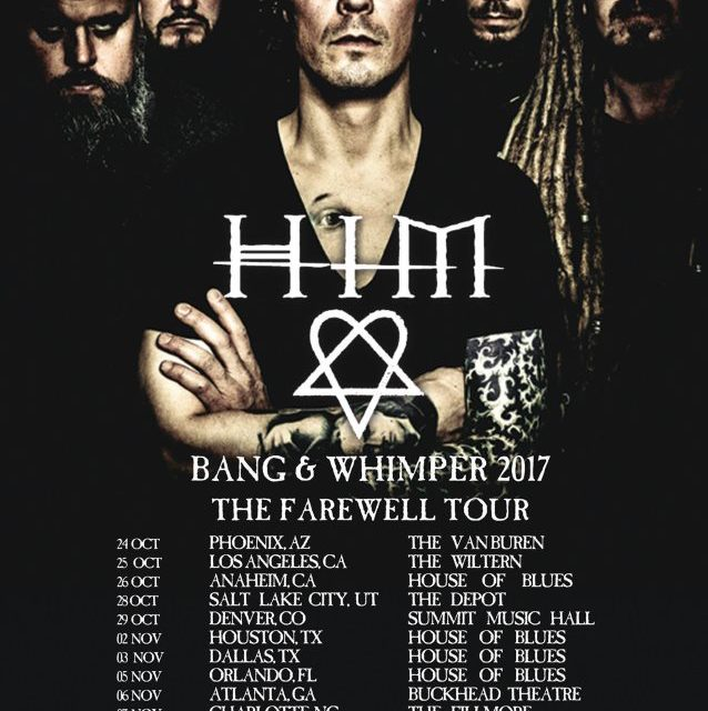HIM Announces North American Dates For Farewell Tour