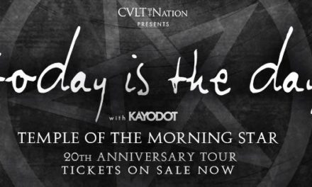 Today Is The Day Announces September Dates For Temple Of The Morning Star 20th Anniversary Tour