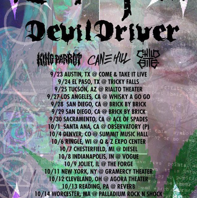 Superjoint Announces Fall U.S. Tour Dates