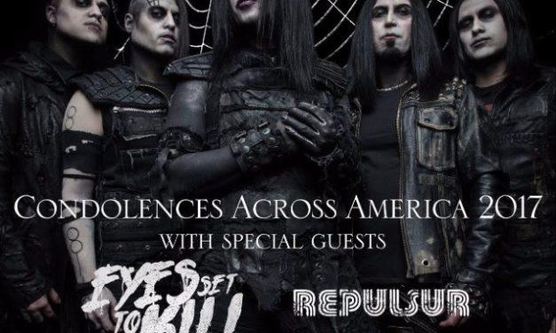 Wednesday 13 Announces Second Set Of 'Condolences Across America 2017' Tour Dates