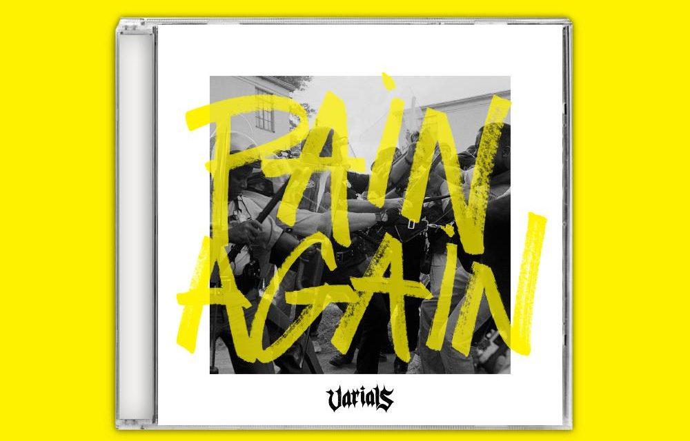 "Varials release lyric video ""Pain Again"""