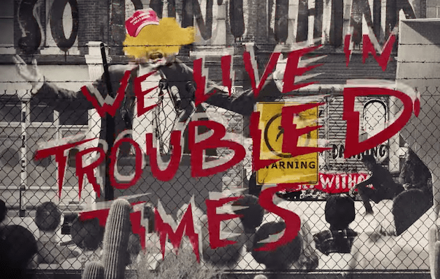"""Green Day release video """"Troubled Times"""""""