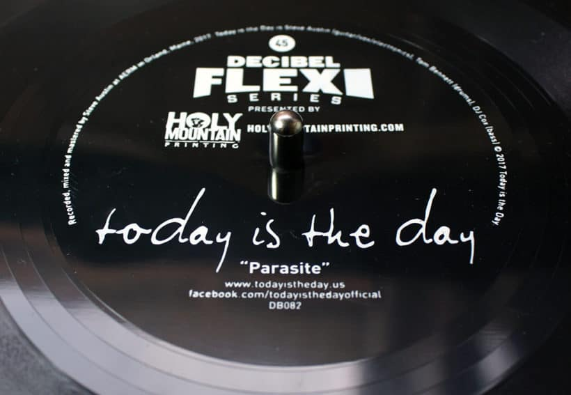 """Today Is The Day post track """"Parasite"""""""