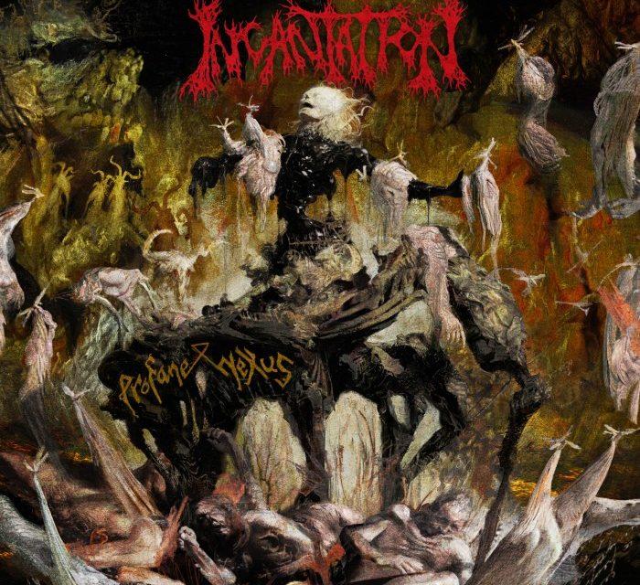 """Incantation release lyric video """"Lus Sepulcri"""""""