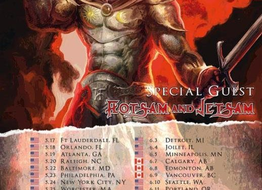 HammerFall Announces Spring 2018 North American Tour Dates