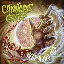"Cannabis Corpse post track ""Left Hand Pass"""