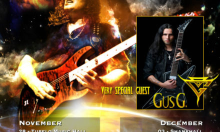 Vinnie Moore Announces Winter U.S. Tour Dates