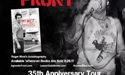 Agnostic Front Announces 35th-Anniversary Tour Dates