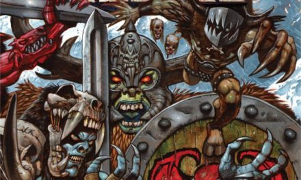 "GWAR released a video for ""Viking Death Machine"""