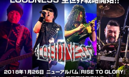 Loudness Announces The Release 'Rise To Glory'