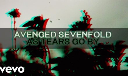 """Avenged Sevenfold post track """"As Tears Go By"""""""