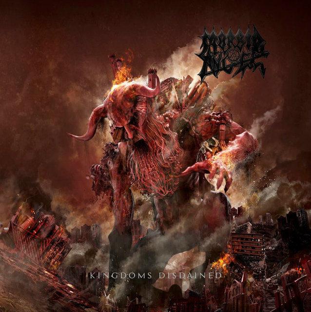 "Morbid Angel released a video for ""Garden of Disdain"""