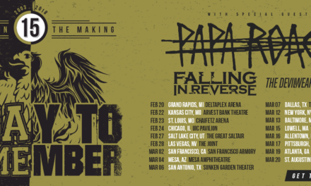 A Day to Remember announced a tour featuring Papa Roach, Falling in Reverse, and The Devil Wears Prada