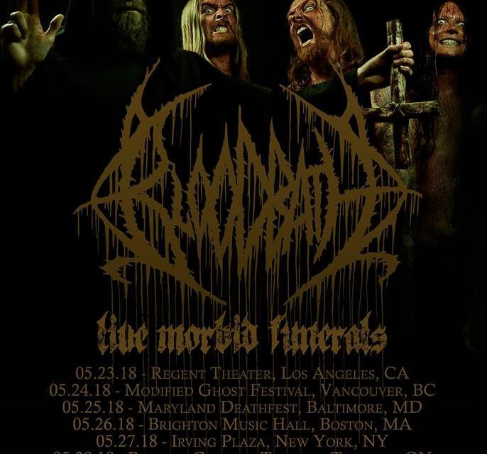 Bloodbath announced a limited 2018 tour