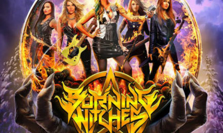 """Burning Witches released a video for """"Black Widow"""""""