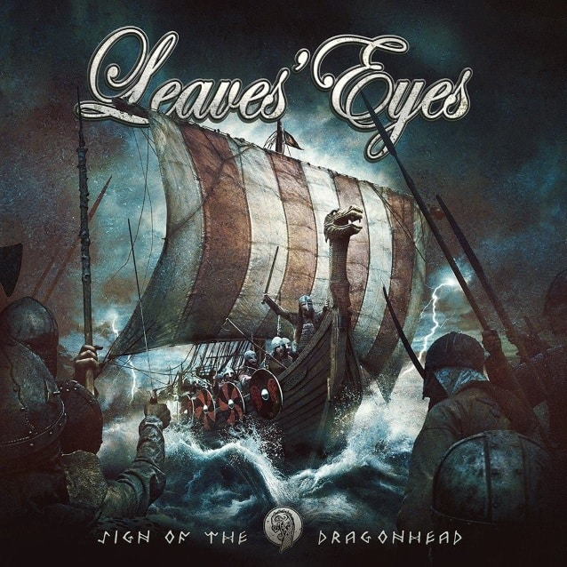 "Leaves' Eyes released a lyric video for ""Jomsborg"""