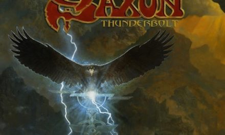 "Saxon released a lyric video for ""They Played Rock and Roll"""