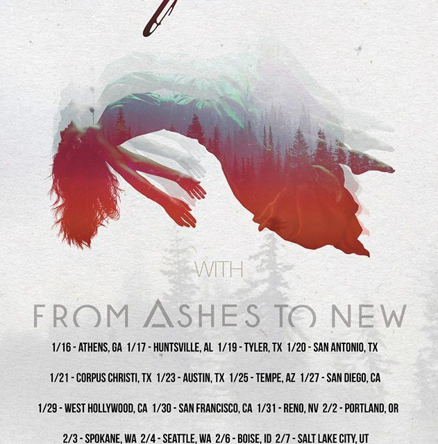 10 Years announced an early 2018 tour w/ From Ashes to New