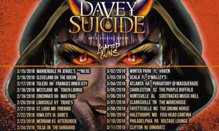 Crazy Town announced a 2018 tour w/ Davey Suicide, and Loaded Guns